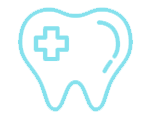 tooth colored fillings icon